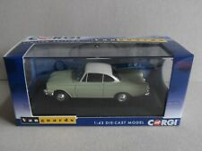 "Vanguards  ""VA03407 FORD CAPRI 109E"",  ""LIME GREEN & ERMINE WHITE"",  LTD-1000."
