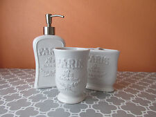 Hotel Collection Ceramic Bathroom Soap Dishes Dispensers Ebay