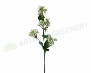 NEW Artificial Flowers/Plants F0229 Queen Anne's Lace (Wild Carrot) 67cm