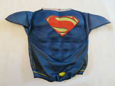 Rubies Superman Shell Muscles Chest Shirt Halloween Costume Youth