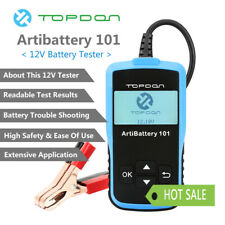 Car Battery Load Tester Charging Cranking Automotive Diagnostic Tool 12V 2000CCA