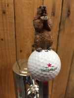 Caddyshack Golf TAP HANDLE Gopher Heineken Dutch Beer Callaway BALL Golfer