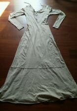 Free people xs Miles of Henley maxi dress tan xs