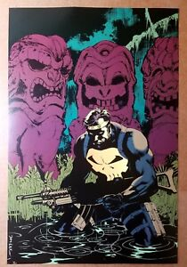 The Punisher Marvel Comics Poster by Jim Lee