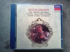 NICOLAI GHIAUROV - OPERATIC ARIAS - CD COME NUOVO