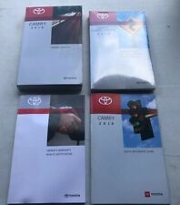 New Listing2019 Toyota Camry Owners Manual Books / Oem