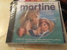 CD»les Plus Belles Histoires de MARTINE»...2 Histoires Du Personnage Martine