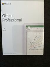 New ListingNew Sealed 2019 Microsoft Office Professional 1Pc Product Key New Factory Sealed