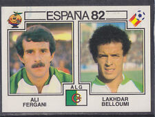 PANINI-ESPANA 82 COUPE DU MONDE - # 106 Fergani / Belloumi-ALGERIE