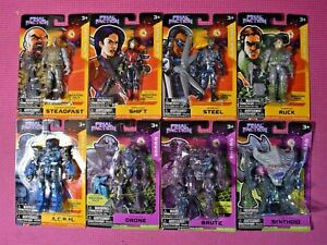 FINAL FACTION - ACTION FIGURES - WEAPONS PACKS - NEW SEALED - YOU CHOOSE!