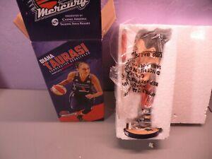 DIANA TAURASI WNBA BOBBLEHEAD NEW IN BOX PHOENIX MERCURY ORANGE JERSEY & FLAG