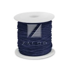 1 Roll 80M Waxed Cotton Cord Jewelry Making Thread Beading Supply 1mm Dark Blue