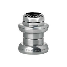 """NEW 2018 Campagnolo RECORD Threaded Headset: 1"""" 26.4mm:  HS7-RE  SILVER"""