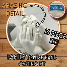 Deluxe Family Hand Casting Kit + bucket, Alginate Plaster Kits Hand Mould Mold