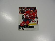 Brian Skrudland 1991 NHL Pro Set (French) card #127