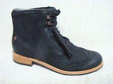 SEBAGO - CLAREMONT - Women's Short Ankle Boots Black Leather - Size 7 M