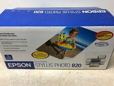 Epson Stylus Photo 820 Inkjet Printer - Open Box new