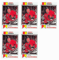 (5) 1993 SCD #4 Jeremy Roenick Hockey Card Lot Chicago Blackhawks