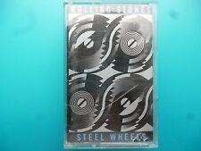 """ROLLING STONES  """" STEEL WHEELS """"  CASSETTE"""