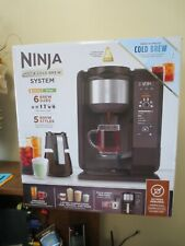 New! Ninja Auto iQ Hot/Cold Brew Tea/Coffee Maker w/ Built In Frother  CP301