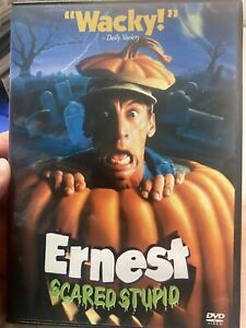 Ernest - Scared Stupid region 1 DVD (1991 Jim Varney comedy movie)