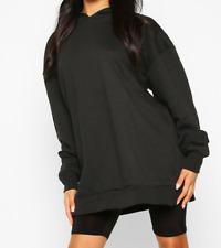 Womens Oversized Fleece Hoodie Ladies Loose Fit Casual Hooded Lounge Top Cheap