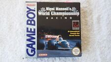 NINTENDO GAME BOY - NIGEL MANSELL'S WORLD CHAMPIONSHIP (BOXED)