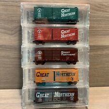 N Scale NSC Great Northern 5-Pack Box Car Micro-Trains Special Run Convention MT