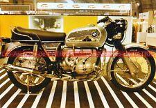 BMW R60/5 R 60 /5 600 Série 5  au Salon Carte Postale Moto Motorcycle Postcard
