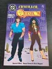 The Question Annual #1 1988 DC Comics Neil Cowan Magyar