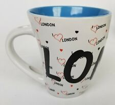 I Love London Coffee Mug Sterling Products LTD Tea Cup l Heart London Gift