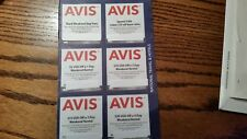 Avis Car Rental Coupons.... Expires Dec. 31, 2018