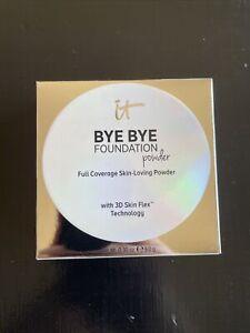 IT Cosmetics Bye Bye Foundation Powder Full Coverage Medium .30 oz USA NEW