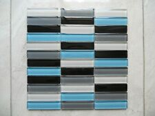 Crystal Glass Mosaic Tiles -  Kitchen Splash/Feature Wall - 4 color blended Bulk
