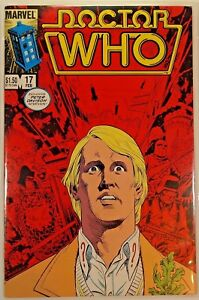 "NEAR MINT ""DOCTOR WHO #17 / 02/1986"" MARVEL COMICS ...#13461"