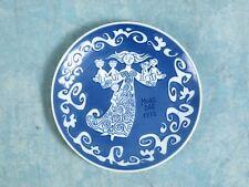 ROYAL COPENHAGEN Vintage MOTHERS DAY 1972 - MORS DAG Cabinet Collector Plate