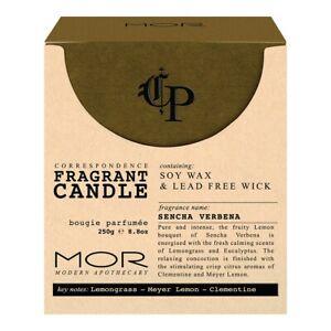 MOR Correspondence Sencha Verbena Soy Wax Candle & Lead Free Wick 250g