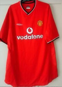 Manchester United 2000 Football Shirt Size XXL
