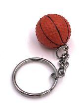Basketball Ball rund Schlüsselanhänger Handtaschenanhänger