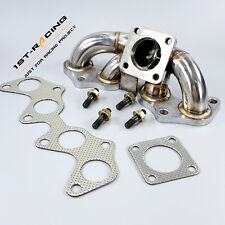 CT9 Turbo Exhaust Manifold Header For 96-99 TOYOTA Starlet EP82 EP85 EP91 4E-FTE