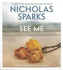 SEE ME Nicolas Sparks BRAND NEW Audio Book SEALED Abridged GIFTABLE Sealed