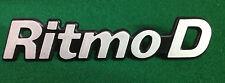 FIAT RITMO D BADGE SCRITTA EMBLEM NOS
