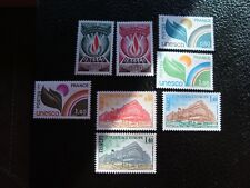 FRANCE - timbre yvert et tellier service n° 39 40 50 a 52 53 a 55 n** (A6) stamp