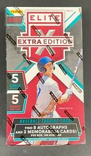 Panini 2019 Elite Extra Edition Hobby Box Baseball Card