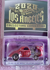 Hot Wheels 2020 LA 34th Collectors Convention '41 Willys Gasser