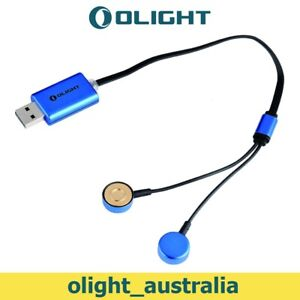 Olight UC Magnetic USB Charger for 18650/16340/14500/AA/AAA