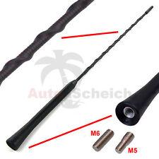 Antenne Stabantenne 40cm M5 M6 Gewinde Antennenstab Dachantenne für VW Audi Seat