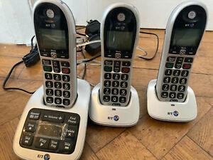 BT 4600 Trio Big Button Digital Cordless Telephones Advanced Call Blocker (G4)