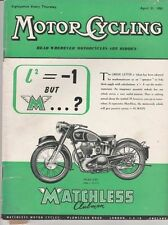 Illustrated Motor Cycling Magazines