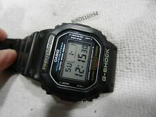 SAVE USED CASIO DW5600E Mens  GSHOCK Black Resin Digital Chronograph Sport Watch